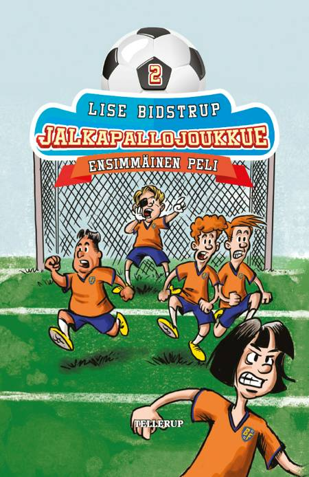 Jalkapallojoukkue #2: Ensimmäinen peli af Lise Bidstrup