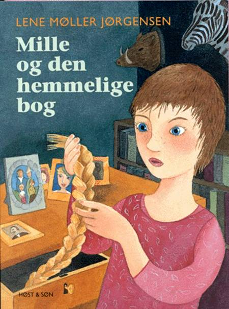 Mille og den hemmelige bog af Lene Møller Jørgensen
