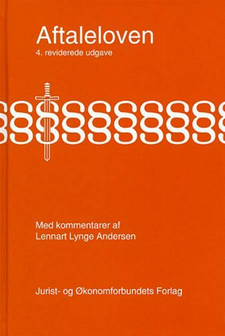 Aftaleloven af L. Lynge Andersen, Lennart Lynge Andersen, Jørgen Nørgaard, L.ennart Lynge Andersen og Munck N. mfl.