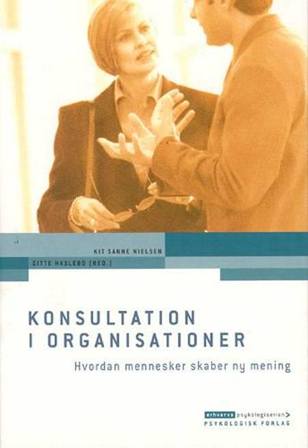 Konsultation i organisationer af Gitte Haslebo og Kit Sanne Nielsen