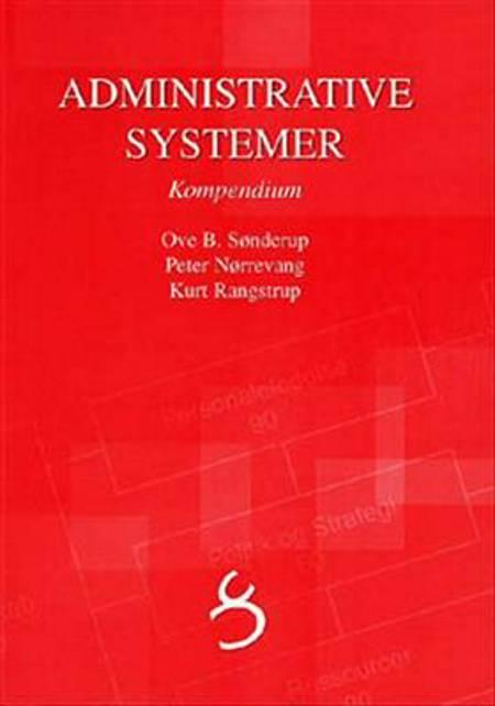 Administrative systemer af Kurt Rangstrup, Ove B. Sønderup og Peter Nørrevang