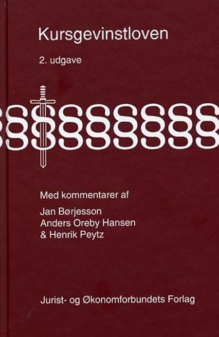 Kursgevinstloven med kommentarer af Henrik Peytz, Anders Oreby Hansen og Jan Børjesson