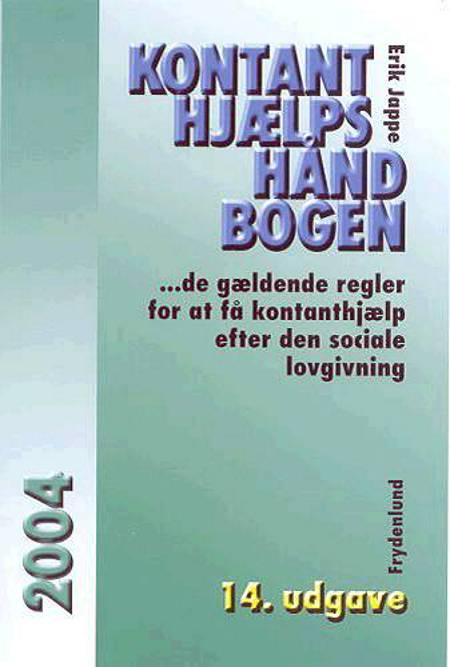Kontanthjælpshåndbogen 2004 af Erik Jappe