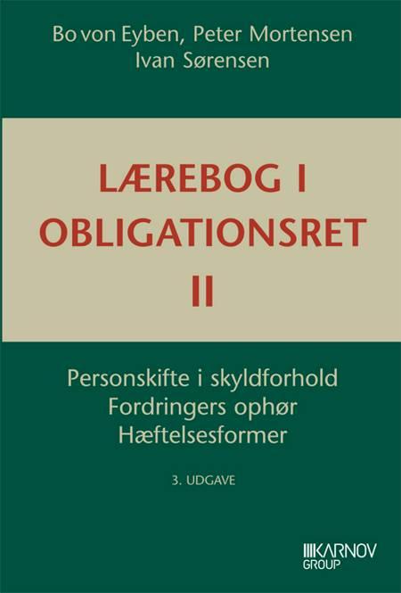 Lærebog i obligationsret af Peter Mortensen, Bo von Eyben og Ivan Sørensen