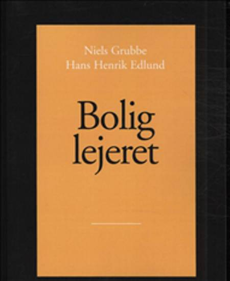 Boliglejeret af Hans Henrik Edlund og Niels Grubbe