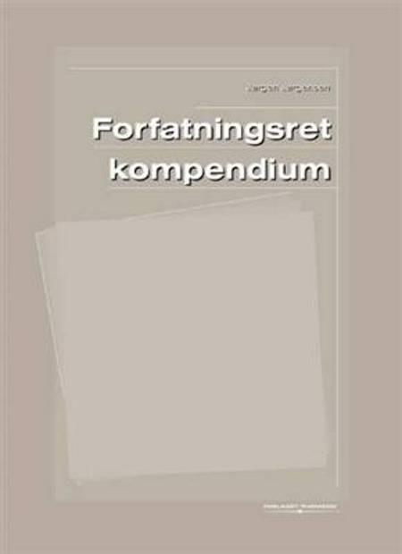 Forfatningsret Kompendium af Jørgen Jørgensen