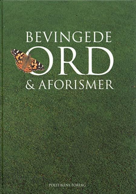 Bevingede ord & aforismer af Joachim Bo Bramsen