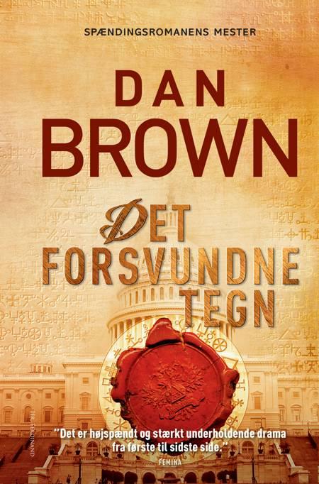 Det forsvundne tegn af Dan Brown