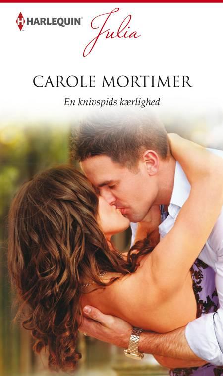 En knivspids kærlighed af Carole Mortimer