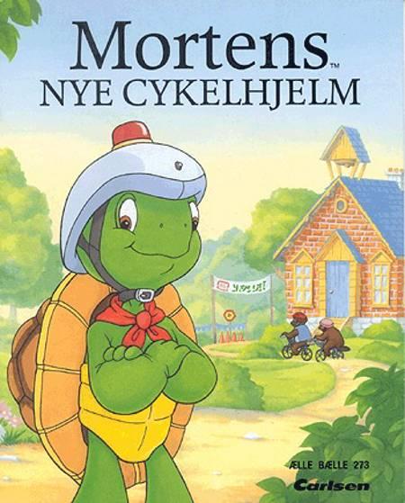 Mortens nye cykelhjelm