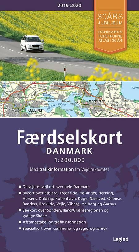 Færdselskort Danmark 2019-2020