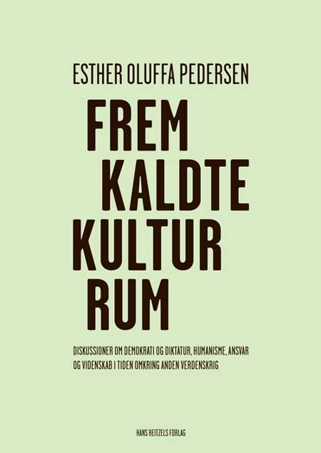 Fremkaldte kulturrum af Esther Oluffa Pedersen
