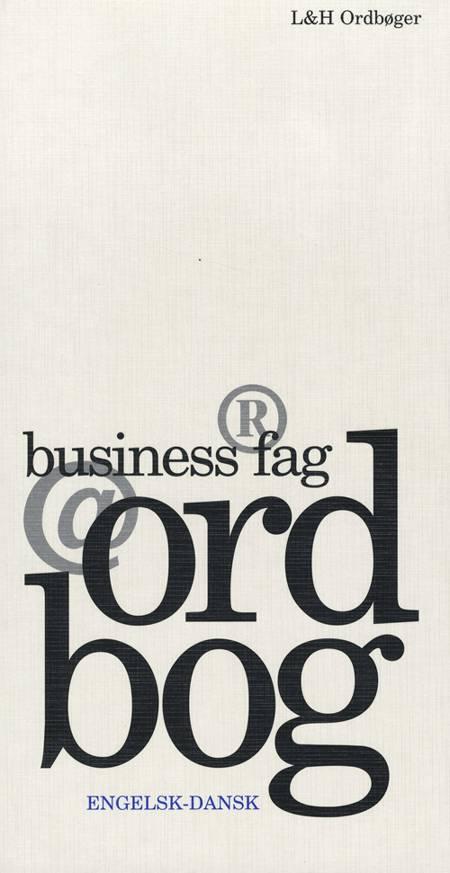 Business fagordbog, engelsk-dansk