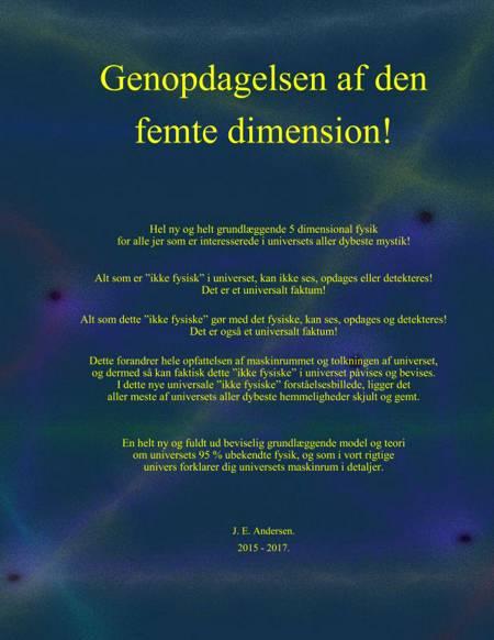 Genopdagelsen af den femte dimension! af J. E. Andersen og J.E. Andersen