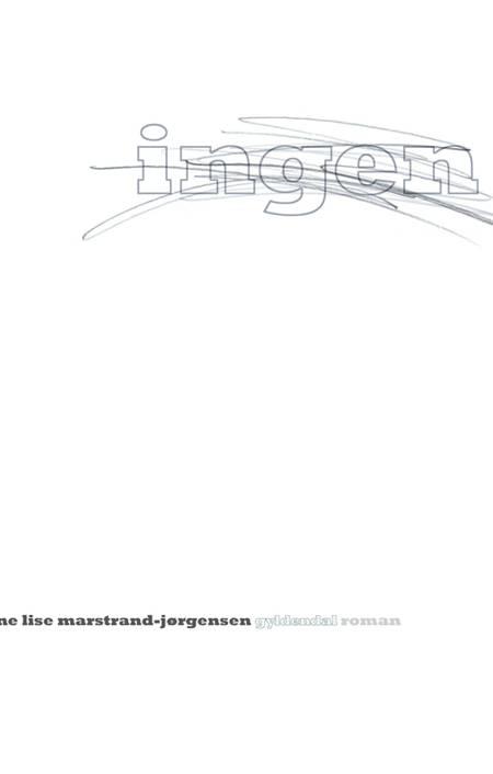 Ingen af Anne Lise Marstrand-Jørgensen