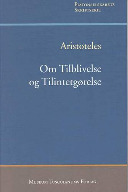 Om tilblivelse og tilintetgørelse af Aristoteles