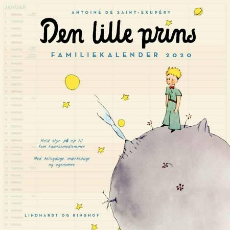 Den lille prins, familiekalender 2020 af Antoine de Saint-Exupéry