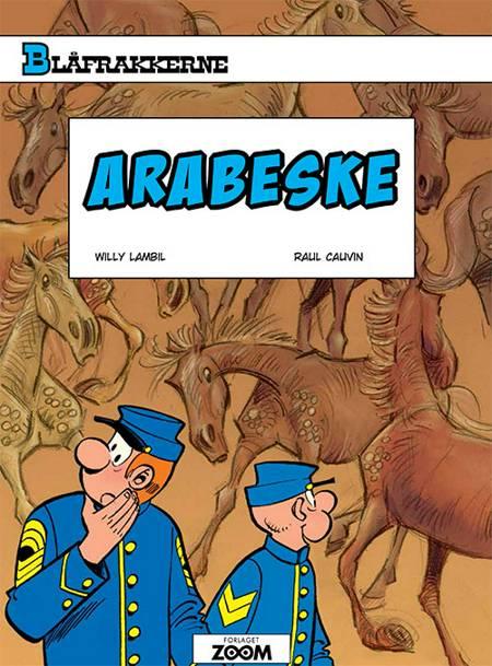 Blåfrakkerne: Arabeske af Raoul Cauvin og Lambil