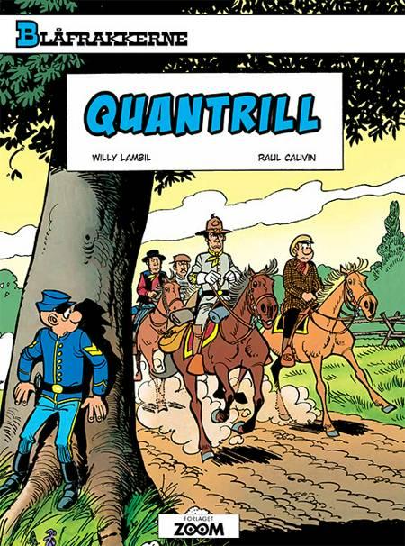 Blåfrakkerne: Quantrill af Raoul Cauvin og Lambil