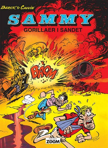Sammy: Gorillaer i sandet af Raoul Cauvin og Cauvin