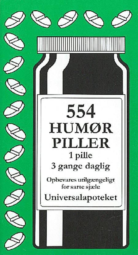 554 humørpiller af Jacob Wisby