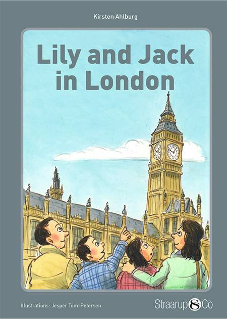 Lily and Jack in London (med gloser) af Kirsten Ahlburg