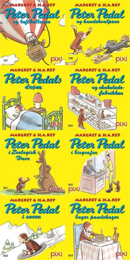 Pixi serie 108 - Peter Pedal af H.A. Rey og Margret Rey