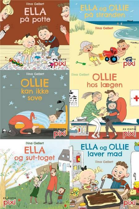 Pixi®-serie 130: Ella og Ollie (kolli 48) af Dina Gellert