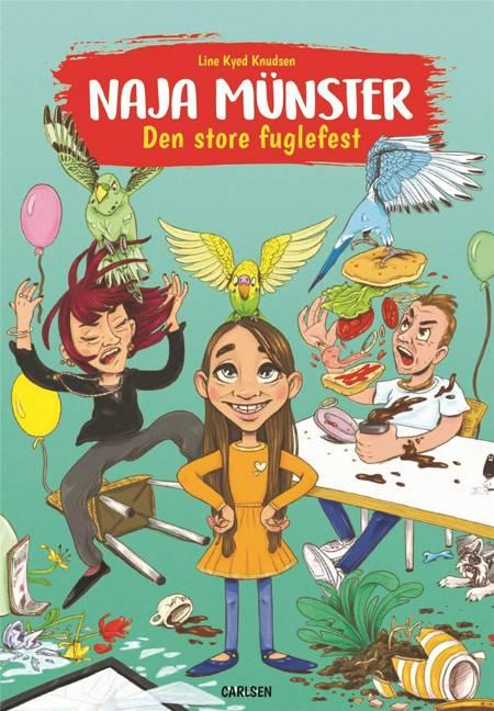 Naja Münster - Den store fuglefest af Line Kyed Knudsen