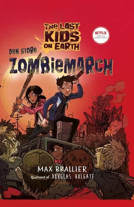 Den store zombiemarch af Max Brallier