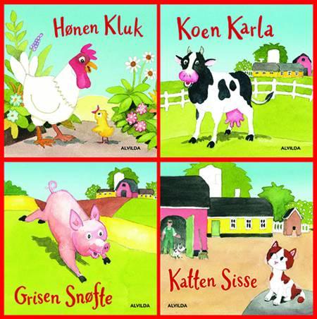 Verdens bedste bondegård (gaveæske med 4 papbøger) af Jan Mogensen