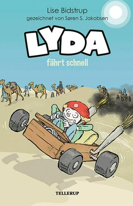 Lyda #5: Lyda fährt schnell af Lise Bidstrup