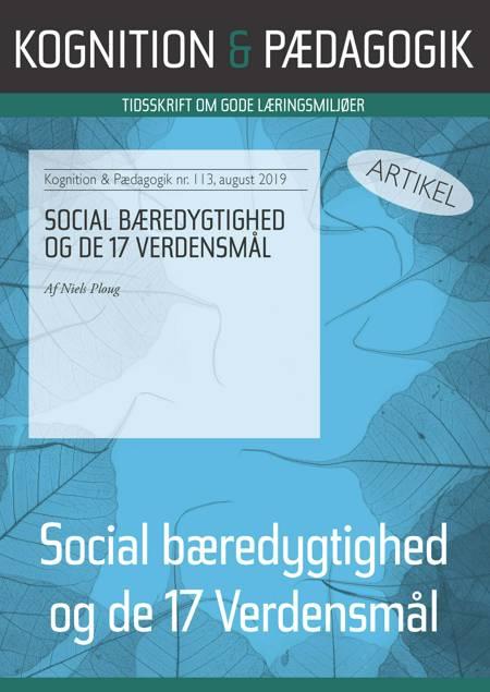 Social bæredygtighed og de 17 verdensmål af Niels Ploug