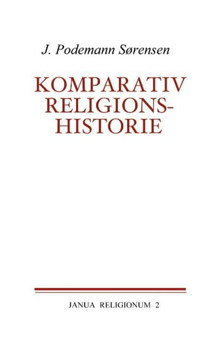 Komparativ religionshistorie af J. Podemann Sørensen
