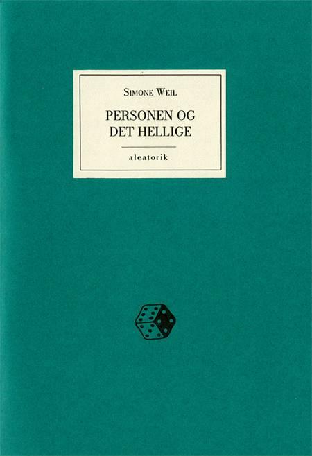 Personen og det hellige af Simone Weil