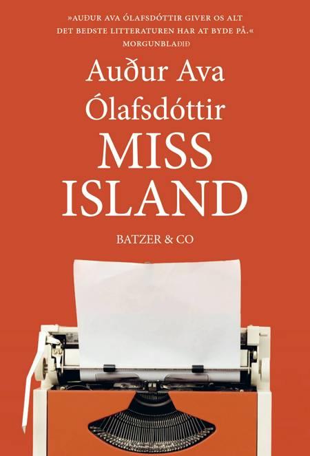Miss Island af Audur Ava Ólafsdóttir
