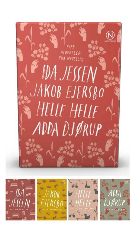 Gaveæske med fire noveller af Jessen, Ejersbo, Helle & Djørup af Ida Jessen, Helle Helle og Jakob Ejersbo m.fl.