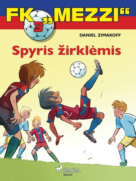 """FK """"Mezzi'' 3. Spyris žirklėmis af Daniel Zimakoff"""