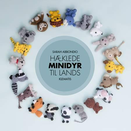 Hæklede minidyr til lands af Sarah Abbondio