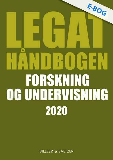 Legathåndbogen Forskning og undervisning 2020 af Per Billesø og Berit Jylling