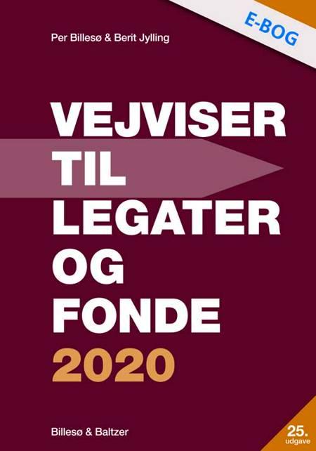 Vejviser til legater og fonde 2020 af Per Billesø og Berit Jylling