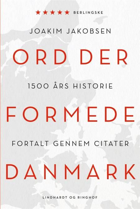 Ord der formede Danmark af Joakim Jakobsen