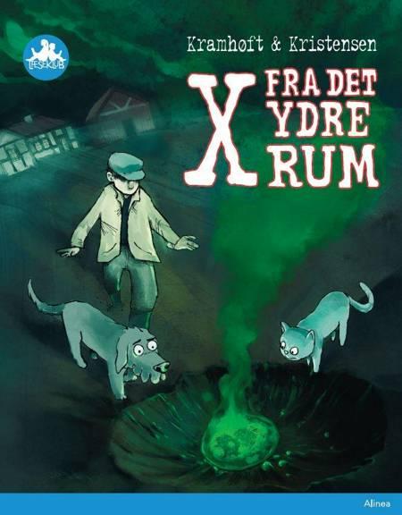 X fra det ydre rum, Blå Læseklub af Tom Kristensen og Lars Kramhøft