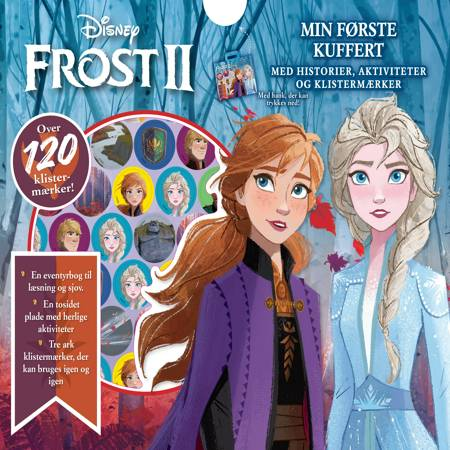 Disney Frost 2 Min første kuffert m. hank af Karrusel Forlag