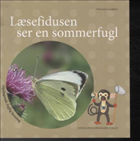 Læsefidusen ser en sommerfugl af Henriette Langkjær