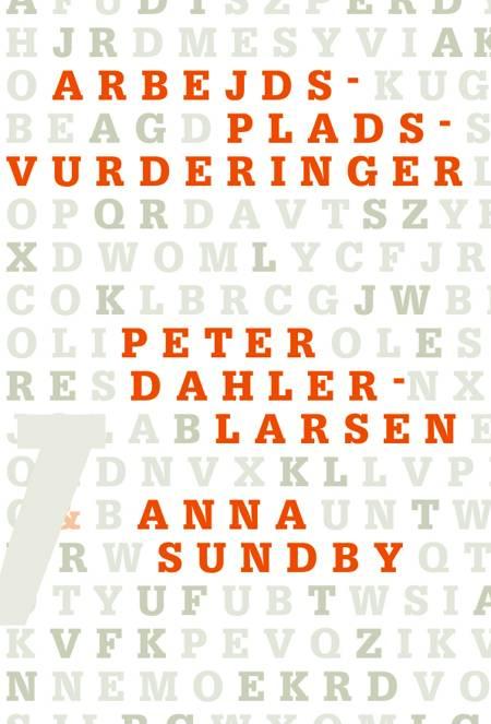 Arbejdspladsvurderinger af Peter Dahler-Larsen og Anna Sundby