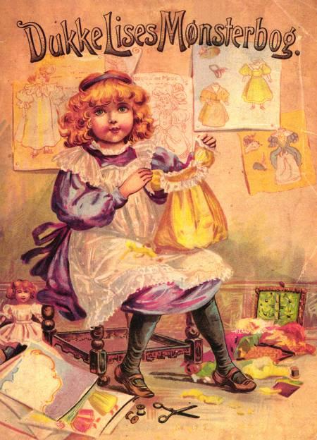 Dukke Lises Mønsterbog af Lise Clasen