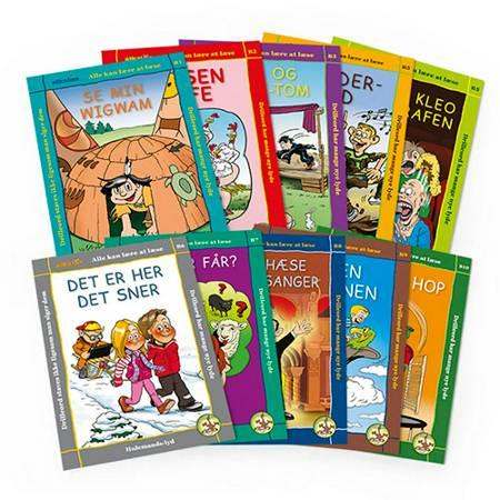 Fortsætterpakken - 10 læse-selv-bøger til drilleord I af Eag V. Hansn