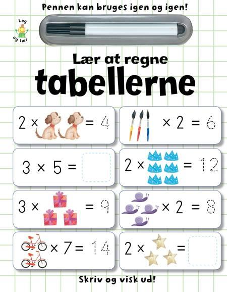 Lær at regne tabellerne