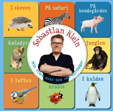 Min store æske med små dyrebøger af Sebastian Klein
